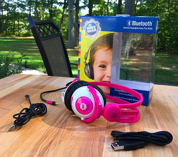Kidzgear Wireless Headphones Review