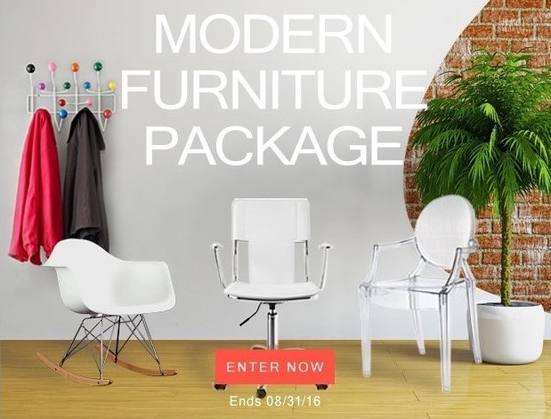 Lexmod 350 Modern Furniture Package Giveaway