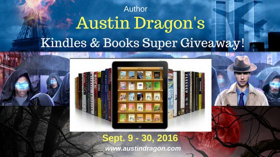 Summer's End Kindles & Books Super Giveaway