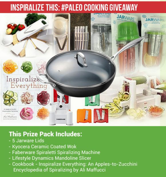 Inspiralize This Paleo Cooking Giveaway