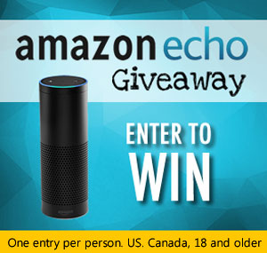 Click Here to Win an Amazon Echo. One per person. Ends September 30