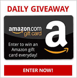 Enter to win an Amazon gift card everyday of the year