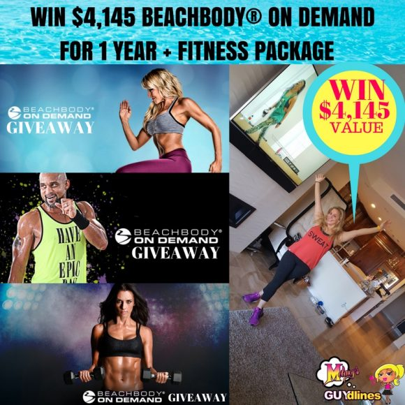 $4,145 Beachbody On Demand For One Year And Fitness Package Giveaway