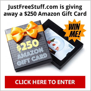 Click Here to Win a $250 Amazon Gift Card. One per person. Ends October 31