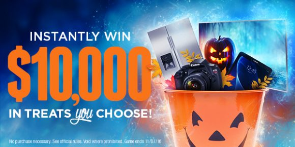 Shop Your Way $10,000 Bag of Treats Instant Win Game