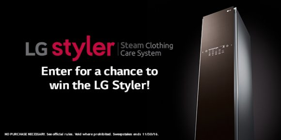 Shop Your Way LG $2,000 Clothing Care System Sweepstakes