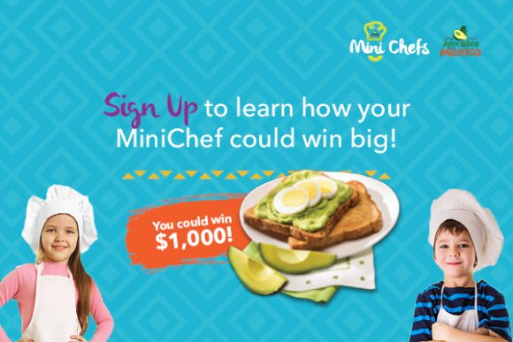 Avocados From Mexico Mini Chefs Cash Contest