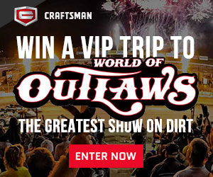 Enter now for your chance to win legendary prizes from Craftsman