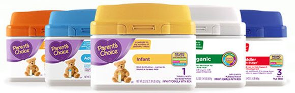 Parent's Choice Baby Formula at Walmart Coupons