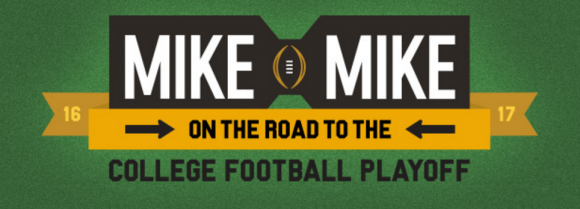 Mike & Mike's Road to the College Football Playoff Sweepstakes Daily Winning Word