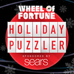 Sears wheel of fortune christmas sweepstakes