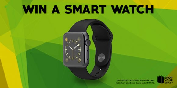 Shop Your Way Top Trending Smartwatch Instant Win Game