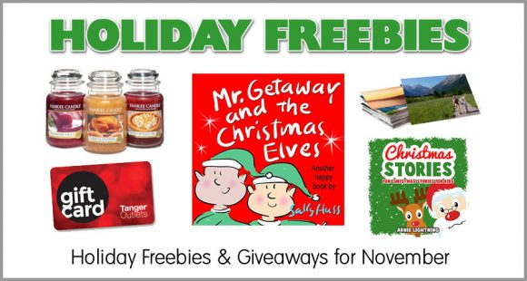 Holiday Freebies November December