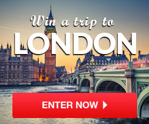 Enter to win an all-expenses paid trip to London. See the London Eye, Buckingham Palace, Big Ben, explore all the culture and shopping and so much more! Staying for 7 nights in the luxury Mayfair Hotel based in the city center. They are even including £1,000 spending money to make your trip that extra bit special!