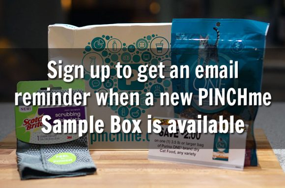Get a PinchME Email Reminder