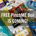 New PinchME Free Sample Box December 13 + 12 Days of PINCHmas Sweepstakes