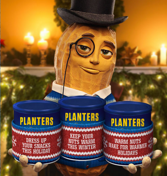 Planters Holiday Snack Sweater Instant Win Game