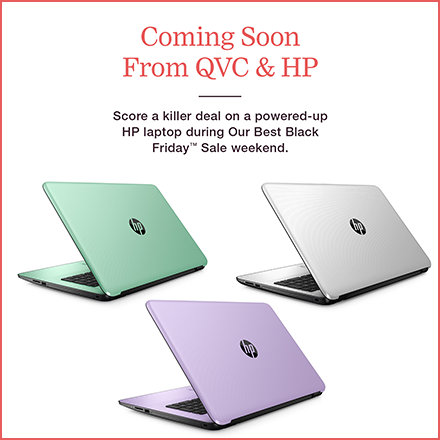 QVC Black Friday HP Laptop Deal