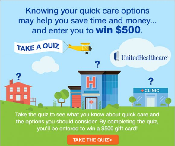 United Healthcare December Cash Sweepstakes