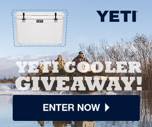 Yeti Coolers are known as the #1 BEST Premium Coolers on the market. Now you can have one for yourself and be the envy of all your friends with a Yeti Tundra 50! There are 50 of them up for grabs in this Yeti Cooler Giveaway!