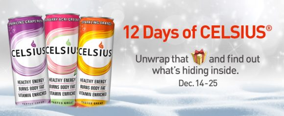 12 Days of Celsius Sweepstakes