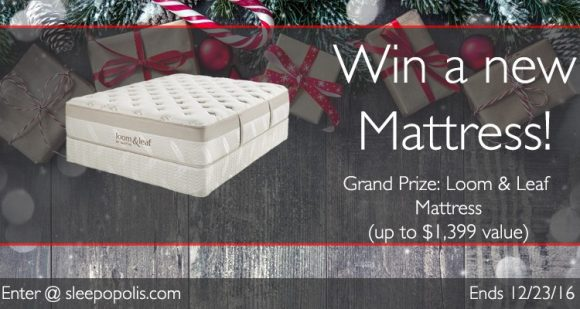 Sleepopolis Loom & Leaf Mattress Giveaway