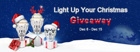 Loftek Sansi Light up Your Christmas Giveaway