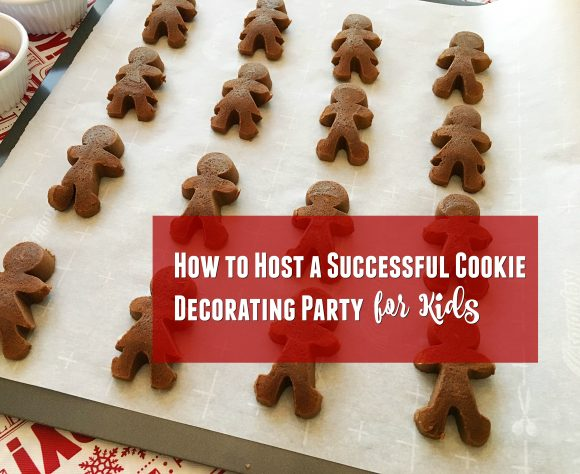 how to host a successful cookie decorating party for kids