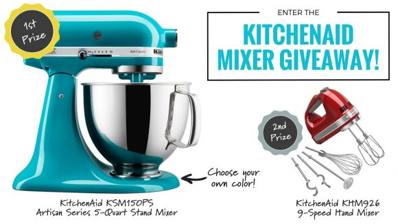 You Nifty Thing KitchenAid Mixer Gleam Giveaway