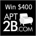 Happily Hughes $400 Apt2B Gift Card Giveaway 12/18/16 8PP18+