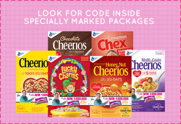 Box Tops 4 Education 1 Million Box Tops Instant Win Game Codes