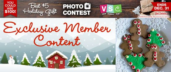Dollar Tree Value Seekers Holiday Gift Photo Contest