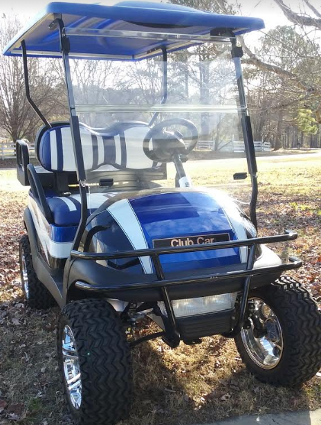 Grizzly Sweepstakes Golf Cart Prize