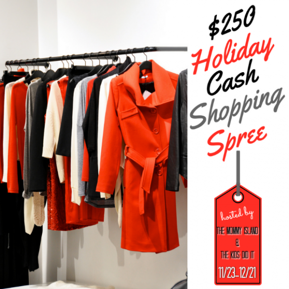 $250 Holiday Shopping Spree Giveaway