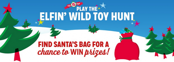 Kmart Elfin' Wild Toy Hunt Instant Win Game