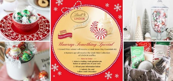 Lindt Unwrap Something Special Pinterest Sweepstakes