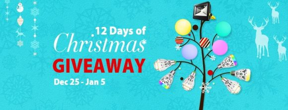 LOFTEK 12 Days of Christmas Facebook Page Giveaways