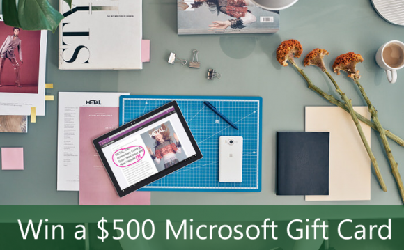 Still Blonde's $500 Microsoft Store Gift Card Giveaway