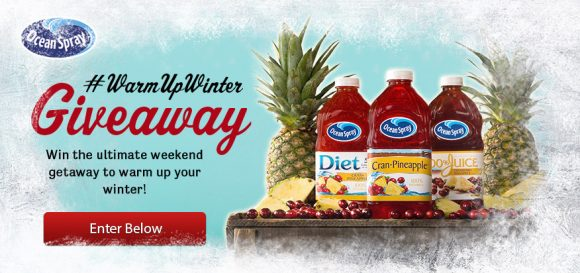 Ocean Spray #WarmUpWishes Giveaway