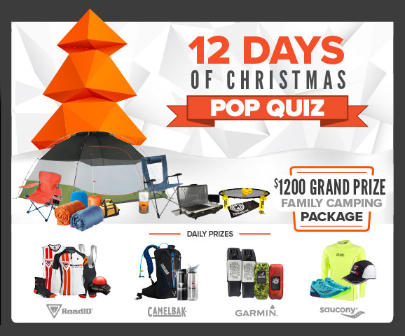 Road ID Twelve Days of Christmas Pop Quiz Challenge (Answers