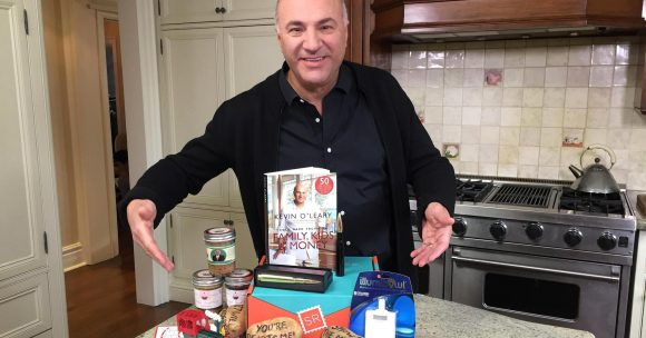 CNBC Kevin O'Leary Prize Pack Sweepstakes Hourly Codes
