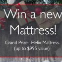 Sleepopolis Helix Mattress Giveaway 12/10/16 1PP18+