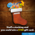 SlimJim Snappy Stockings Walmart Sweepstakes (10 Winners) 12/19/16 1PP18+