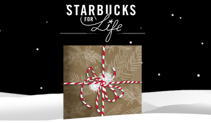 Starbucks For Life Holiday Edition Instant Win Game