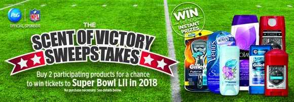 Chance to win super bowl tickets