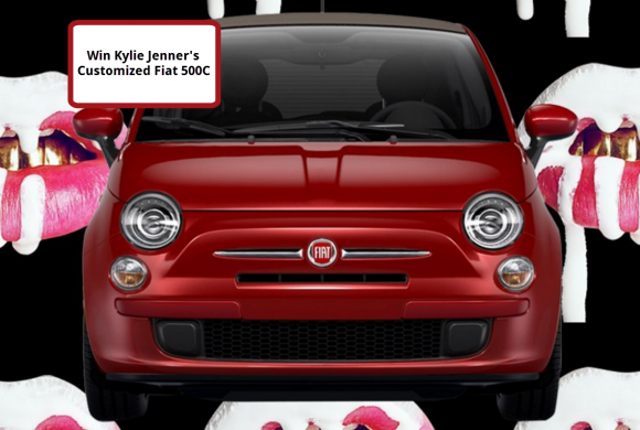 win Kylie Jenner's customized Fiat 500C