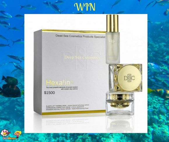 Melany's Guydlines $1500 Deep Sea Cosmetics Giveaway