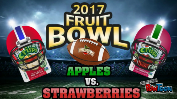 Brothers All Natural 1st Annual Fruit Bowl 2017 Apples vs. Strawberries Promotion
