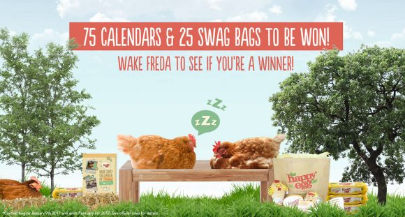 HappyEgg Calendar Girls Instant Win Game