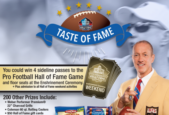 Land O' Frost Taste of Fame Sweepstakes